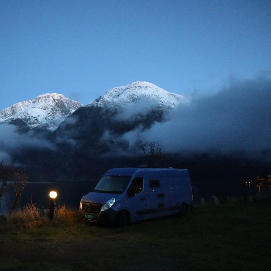 vanlife, roadtrip norwegen, leben im Van, diy camper, camper selber bauen, fulltime vanlife, vanlife blog